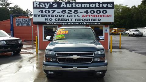 2006 Chevrolet Silverado 1500 for sale at RAYS AUTOMOTIVE SALES & REPAIR INC in Longwood FL