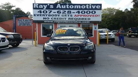 2010 BMW 5 Series for sale at RAYS AUTOMOTIVE SALES & REPAIR INC in Longwood FL