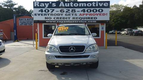 2004 Mercedes-Benz M-Class for sale at RAYS AUTOMOTIVE SALES & REPAIR INC in Longwood FL