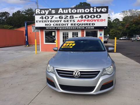 2012 Volkswagen CC for sale at RAYS AUTOMOTIVE SALES & REPAIR INC in Longwood FL