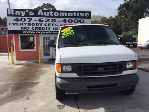 2006 Ford E-Series Cargo for sale at RAYS AUTOMOTIVE SALES & REPAIR INC in Longwood FL