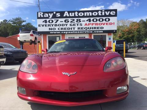 2008 Chevrolet Corvette for sale at RAYS AUTOMOTIVE SALES & REPAIR INC in Longwood FL