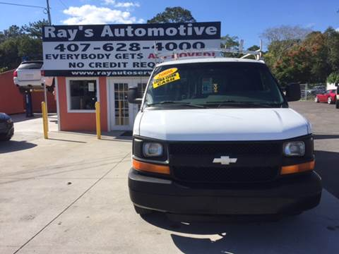 2005 Chevrolet Express Cargo for sale at RAYS AUTOMOTIVE SALES & REPAIR INC in Longwood FL