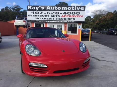 2009 Porsche Boxster for sale at RAYS AUTOMOTIVE SALES & REPAIR INC in Longwood FL