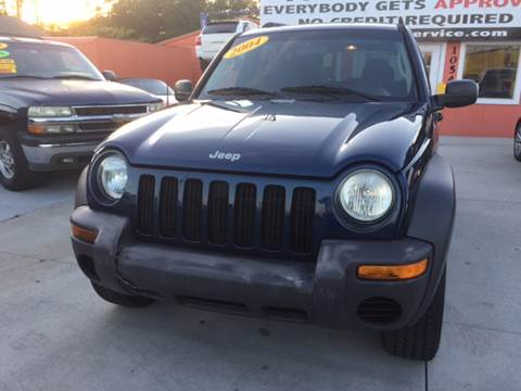 2004 Jeep Liberty for sale at RAYS AUTOMOTIVE SALES & REPAIR INC in Longwood FL