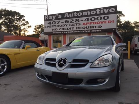 2005 Mercedes-Benz SLK for sale at RAYS AUTOMOTIVE SALES & REPAIR INC in Longwood FL