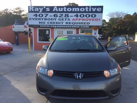 2008 Honda Civic for sale at RAYS AUTOMOTIVE SALES & REPAIR INC in Longwood FL