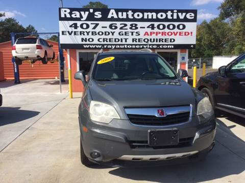2008 Saturn Vue for sale at RAYS AUTOMOTIVE SALES & REPAIR INC in Longwood FL