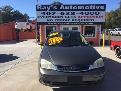 2005 Ford Focus for sale at RAYS AUTOMOTIVE SALES & REPAIR INC in Longwood FL