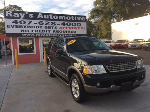 2004 Ford Explorer for sale at RAYS AUTOMOTIVE SALES & REPAIR INC in Longwood FL