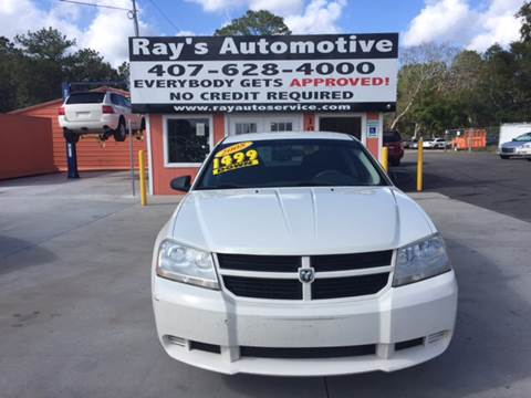 2008 Dodge Avenger for sale at RAYS AUTOMOTIVE SALES & REPAIR INC in Longwood FL