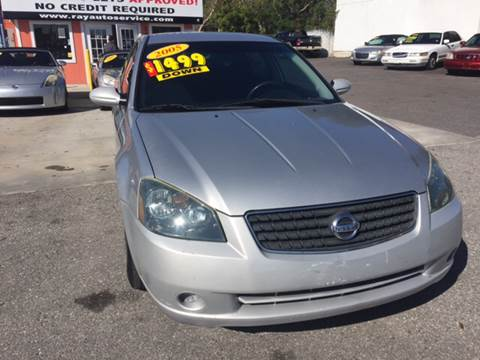 2005 Nissan Altima for sale at RAYS AUTOMOTIVE SALES & REPAIR INC in Longwood FL