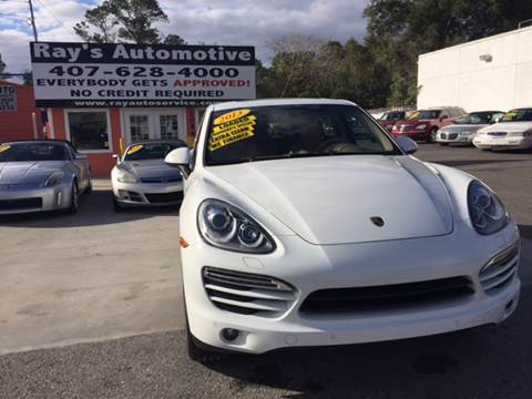 2013 Porsche Cayenne for sale at RAYS AUTOMOTIVE SALES & REPAIR INC in Longwood FL