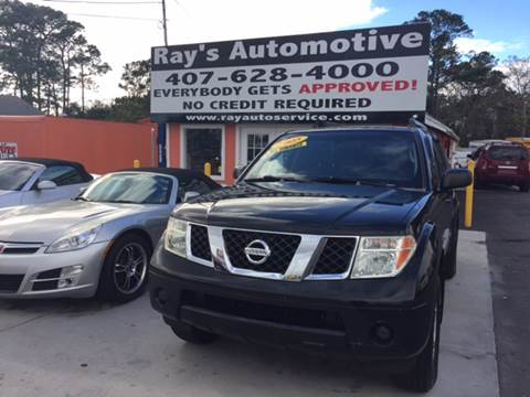 2005 Nissan Pathfinder for sale at RAYS AUTOMOTIVE SALES & REPAIR INC in Longwood FL