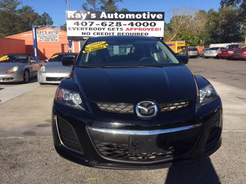 2010 Mazda CX-7 for sale at RAYS AUTOMOTIVE SALES & REPAIR INC in Longwood FL