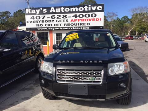 2008 Land Rover LR2 for sale at RAYS AUTOMOTIVE SALES & REPAIR INC in Longwood FL