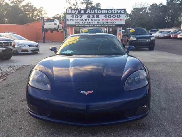 2005 Chevrolet Corvette for sale at RAYS AUTOMOTIVE SALES & REPAIR INC in Longwood FL