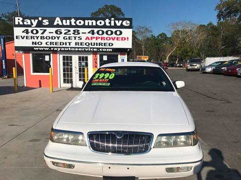 1996 Mercury Grand Marquis for sale at RAYS AUTOMOTIVE SALES & REPAIR INC in Longwood FL
