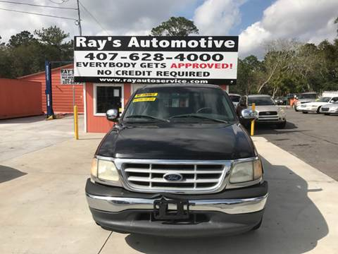 1999 Ford F-150 for sale at RAYS AUTOMOTIVE SALES & REPAIR INC in Longwood FL