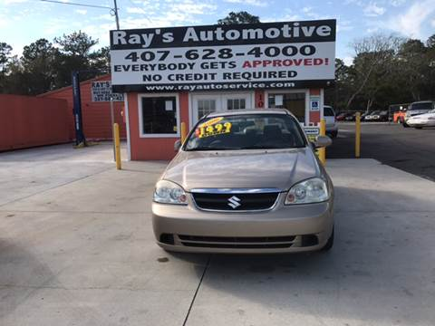 2006 Suzuki Forenza for sale at RAYS AUTOMOTIVE SALES & REPAIR INC in Longwood FL