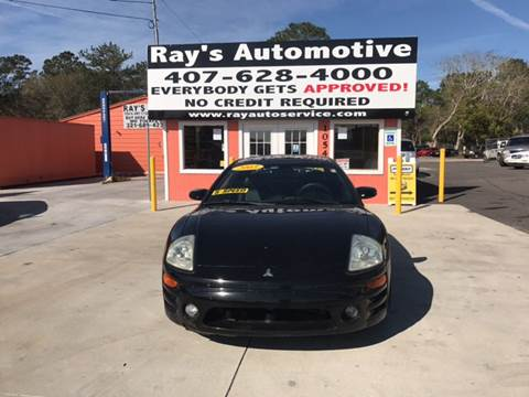 2003 Mitsubishi Eclipse for sale at RAYS AUTOMOTIVE SALES & REPAIR INC in Longwood FL