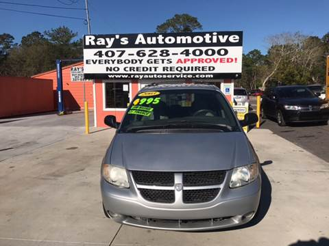 2003 Dodge Grand Caravan for sale at RAYS AUTOMOTIVE SALES & REPAIR INC in Longwood FL
