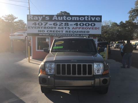 2006 Jeep Commander for sale at RAYS AUTOMOTIVE SALES & REPAIR INC in Longwood FL