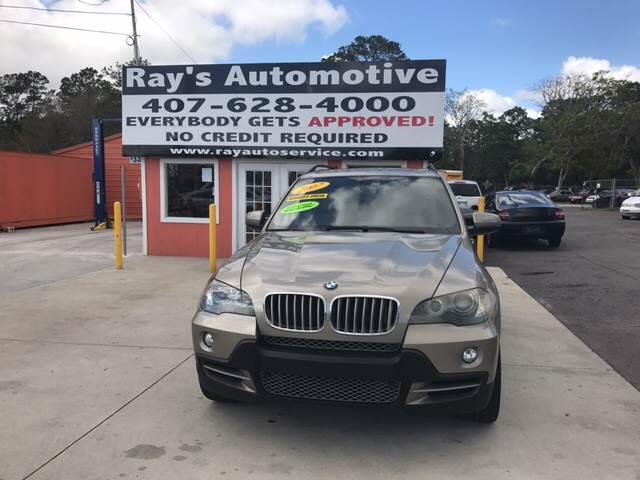 2007 BMW X5 4.8i In Longwood FL - RAYS AUTOMOTIVE SALES & REPAIR INC