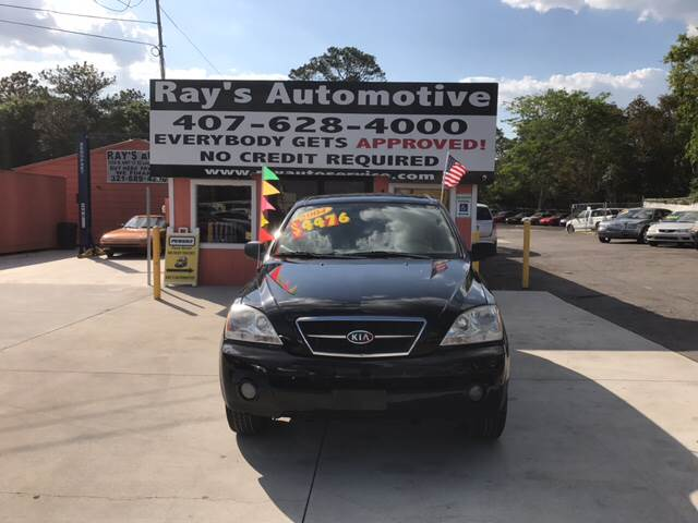 2004 Kia Sorento For Sale At RAYS AUTOMOTIVE SALES U0026 REPAIR INC In Longwood  FL