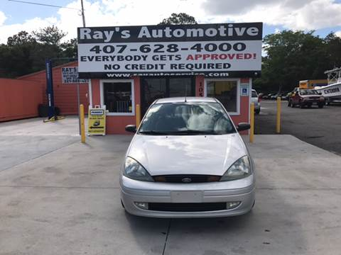 2003 Ford Focus for sale at RAYS AUTOMOTIVE SALES & REPAIR INC in Longwood FL