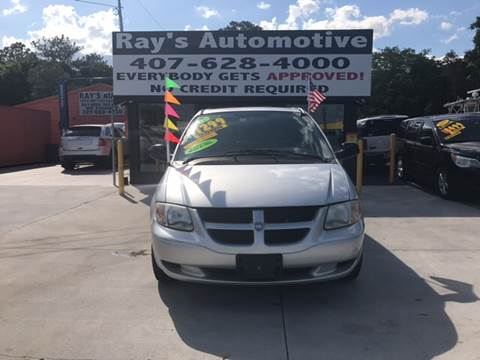 2003 Dodge Caravan for sale at RAYS AUTOMOTIVE SALES & REPAIR INC in Longwood FL