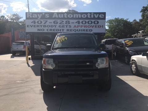 2005 Land Rover LR3 for sale at RAYS AUTOMOTIVE SALES & REPAIR INC in Longwood FL