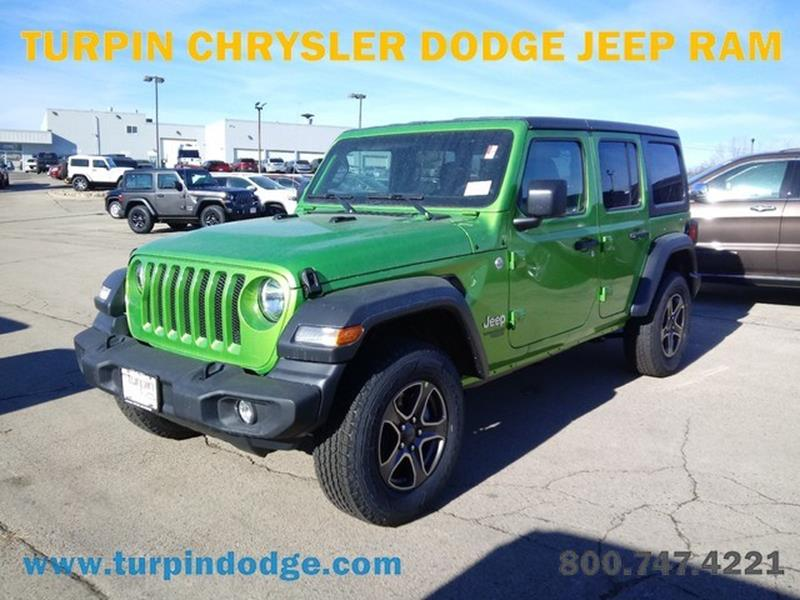 2018 Jeep Wrangler Unlimited In Dubuque IA - Turpin Dodge ...