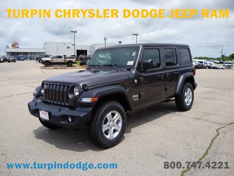 Turpin Dodge Dubuque >> 2019 Jeep Wrangler Unlimited In Dubuque Ia Turpin Dodge