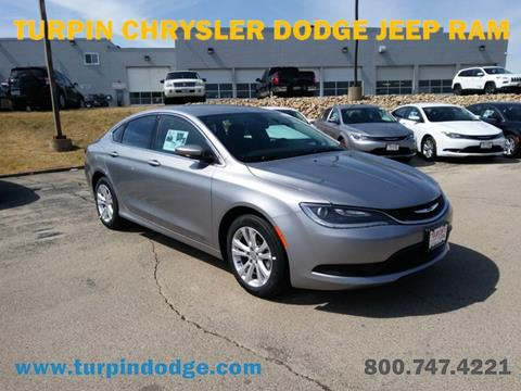2017 Chrysler 200 for sale in Dubuque, IA