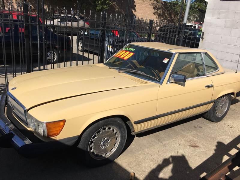 1981 Mercedes-Benz 380-Class 380SL 2dr Convertible - Chicago IL
