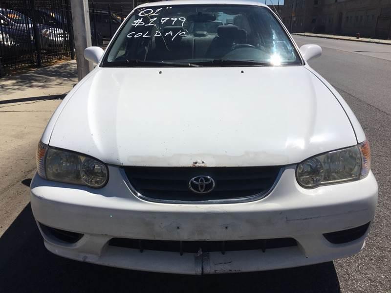 2001 Toyota Corolla for sale at MAX ALLEN AUTO SALES in Chicago IL