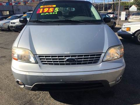 2003 Ford Windstar for sale at MAX ALLEN AUTO SALES in Chicago IL