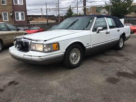 1991 Lincoln Town Car for sale at MAX ALLEN AUTO SALES in Chicago IL