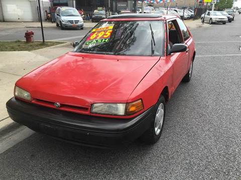1994 Mazda 323 for sale at MAX ALLEN AUTO SALES in Chicago IL