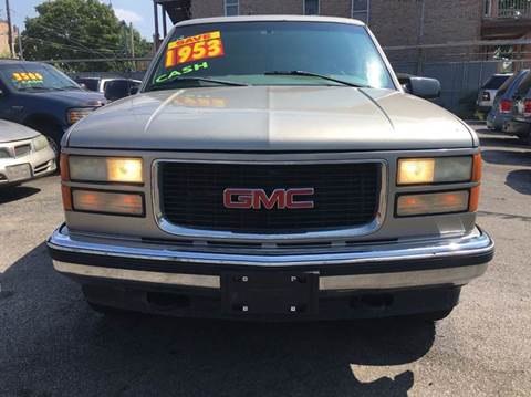 1998 GMC Suburban for sale at MAX ALLEN AUTO SALES in Chicago IL