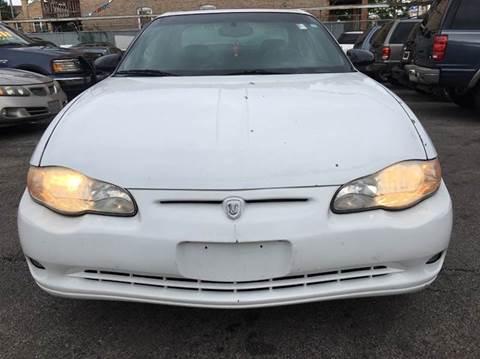 2000 Chevrolet Monte Carlo for sale at MAX ALLEN AUTO SALES in Chicago IL