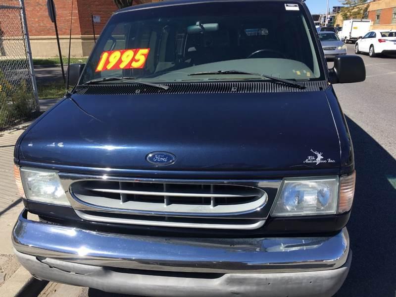 2002 Ford E-150 for sale at MAX ALLEN AUTO SALES in Chicago IL