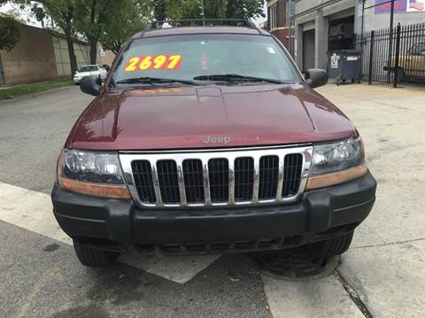 2000 Jeep Grand Cherokee for sale at MAX ALLEN AUTO SALES in Chicago IL