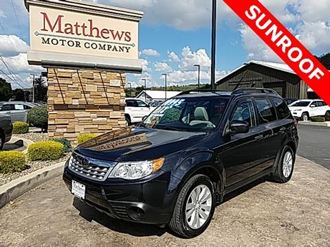 2012 Subaru Forester for sale in Covington, PA
