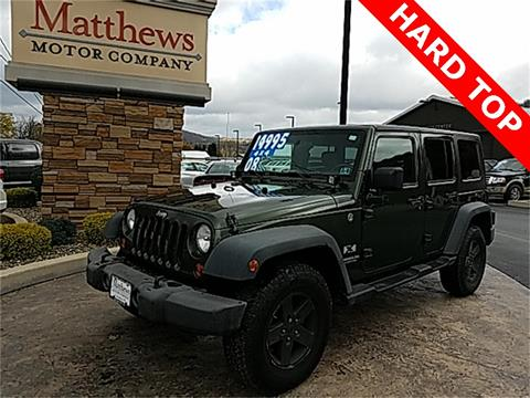 2008 Jeep Wrangler Unlimited for sale in Covington, PA