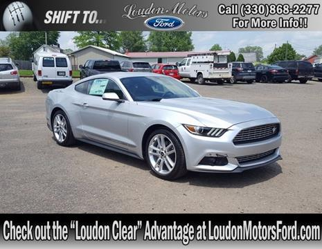 2017 ford mustang for sale in ohio for Loudon motors minerva ohio