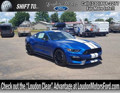 2017 ford mustang for sale in ohio for Loudon motors ford minerva