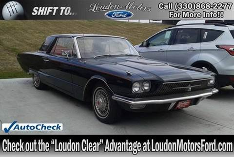1966 ford thunderbird for sale in ohio for Loudon motors ford minerva