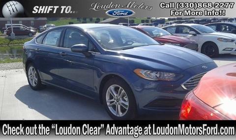 New ford fusion for sale in ohio for Loudon motors minerva ohio